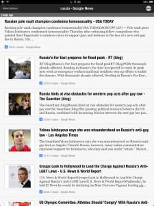 Google News Russia