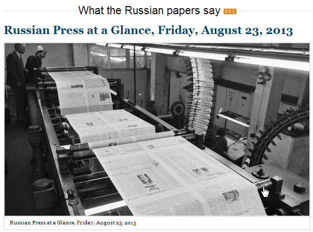 RIA-Novosti-Russian-Press-at-a-Glance_Friday-23-August-2013